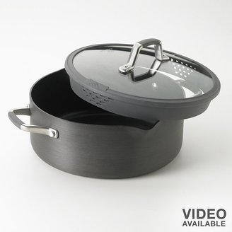 Calphalon Cooking with easy-system 5-qt. nonstick hard-anodized dutch oven
