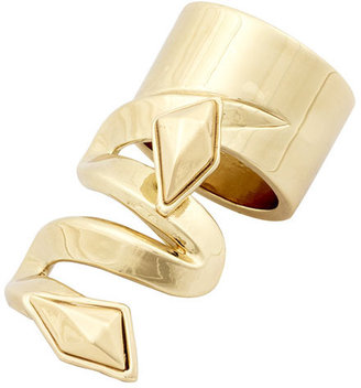 Belle Noel by Kim Kardashian Geometric Swirl Shield Ring