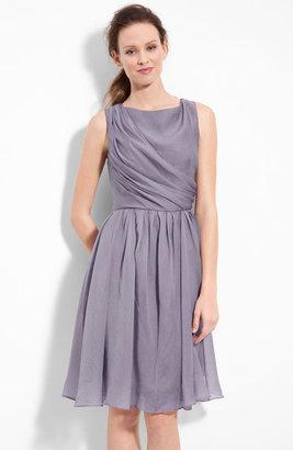 Suzi Chin for Maggy Boutique Draped Organza Dress