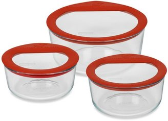 Pyrex No LeakTM Storage Glass Containers