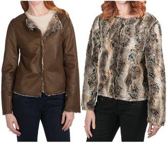dylan Vintage Dylan Jacket - Reversible, Faux-Fur (For Women)