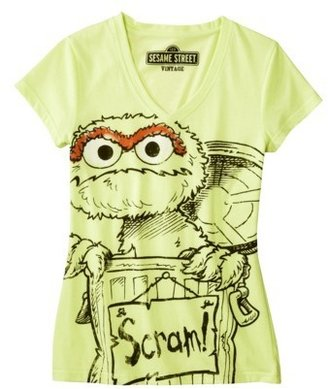 Sesame Street Women's Sleep Top - Oscar the Grouch
