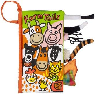 Jellycat Farm Tails Children's Soft Book