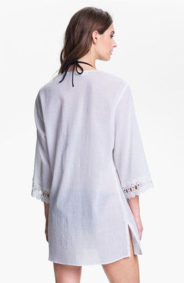 LaBlanca La Blanca Crochet Trim Cover-Up