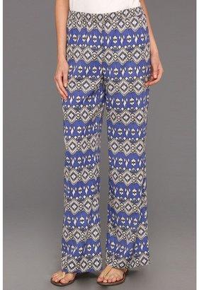 Karen Kane Beverly Print Pant (Print) - Apparel