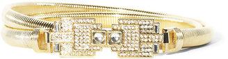 Vince Camuto Crystal Embellished Belt