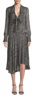 Theory Scarf Wrap Dress