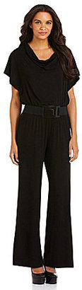 Chelsea & Theodore Belted Jumpsuit