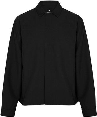 Oamc Totem Black Printed Overshirt