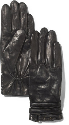 Vince Camuto Classic Leather Gloves