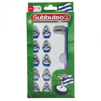 Subbuteo Blue and White Soccer Players