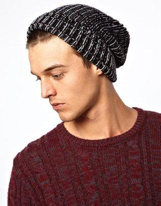 Asos Large Beanie Hat in Twist Yarn