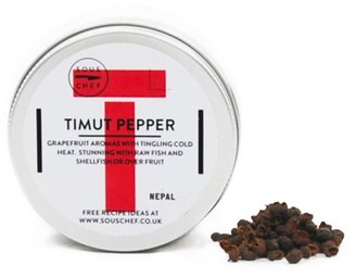 SOUS CHEF Timut Pepper 25g