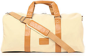 Flud Watches The Duffle Bag in Creme Canvas