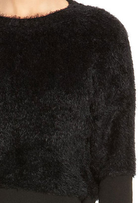 DKNY Faux Fur Pullover