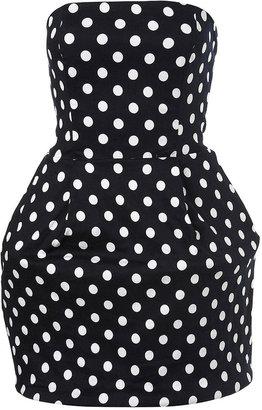 Rare Polka Dot Hoop Dress by Rare**