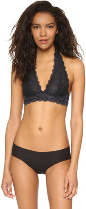 Free People Galloon Lace Halter Bra $38 thestylecure.com