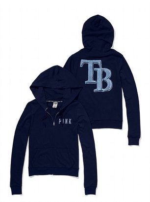 Victoria's Secret PINK Tampa Bay Rays Bling Perfect Full Zip Hoodie
