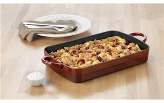 Calphalon 9 x 13-in. Rectangular Enamel Cast Iron Simply Enamel Cast Iron Baker, Red
