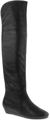 Chinese Laundry Trickster Demi Wedge Over-The-Knee Boots