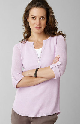 J. Jill Linen-bamboo tunic sweater
