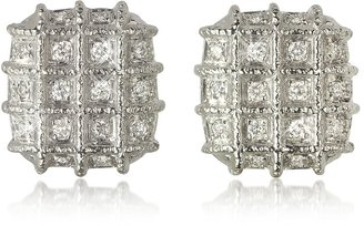 Torrini Wallstreet Collection - 18K White Gold Diamond Earrings