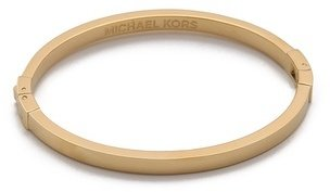 Michael Kors Thin Hinged Bangle Bracelet