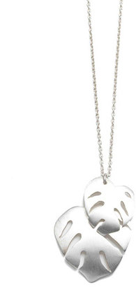 Arena CPH Talia Silver Leaf Necklace
