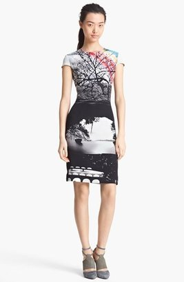 Mary Katrantzou Print Silk Dress