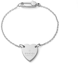 Gucci Heart bracelet with trademark