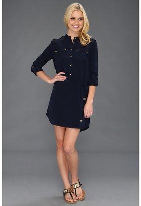 Juicy Couture Boho Shirt Dress (Regal) - Apparel