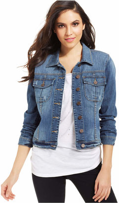 Kut from the Kloth Amelia Denim Jacket $79 thestylecure.com