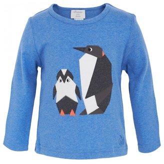 Bonnie Baby Penguin Applique Tee
