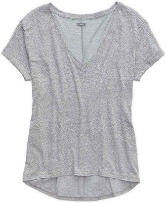aerie Deep V-Neck Oversized T-Shirt