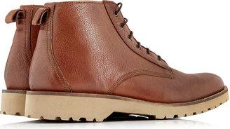 Ben Sherman Tan Lace Up Boots