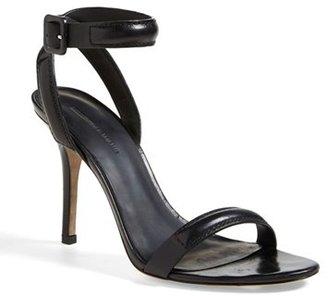 Alexander Wang 'Antonia' Ankle Strap Sandal $475 thestylecure.com