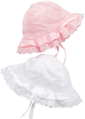 First Impressions Baby Hat, Baby Girls Eyelet Hat