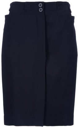 Alaia Vintage Vintage pencil skirt