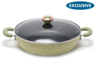 Paula Deen 12-in. Nonstick Signature Porcelain Everything Pan, Pear