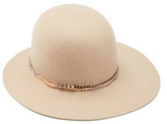 Lucky Brand Feather Cloche