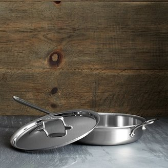 All-Clad d5 Stainless Brushed 3 Quart Sauté Pan with Lid