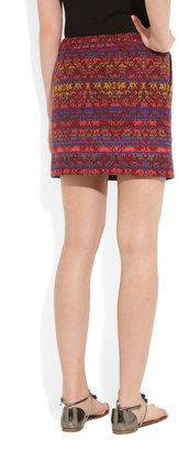 Matthew Williamson Embellished jacquard skirt