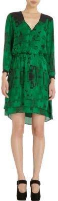 Parker Printed Crossover Dress