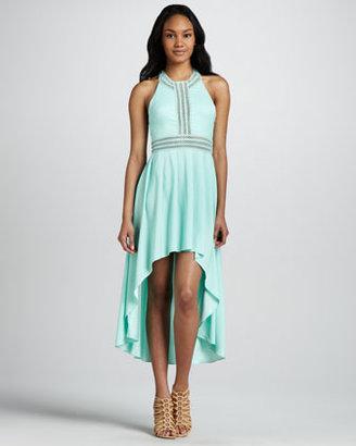 6 Shore Road 6 Shoreroad Angelina High-Low Racerback Dress
