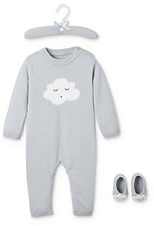 Elegant Baby Unisex Sleepy Cloud Coverall & Booties Set, Baby - 100% Exclusive