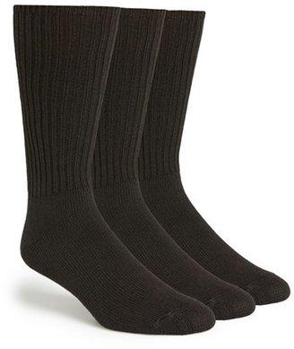 Men's Calvin Klein 3-Pack Casual Socks $22 thestylecure.com