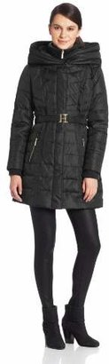 Kensie Women's Down Coat with Hood $75.42 thestylecure.com