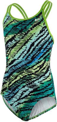 Nike Swimwear, Girls Spider-Back One-Piece Swimsuit
