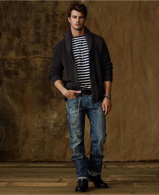 Denim & Supply Ralph Lauren Jeans, Slouch Pierce Wash Jeans