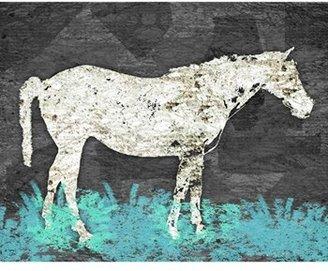 Green Leaf Art 'Vintage Horse II' Wall Art